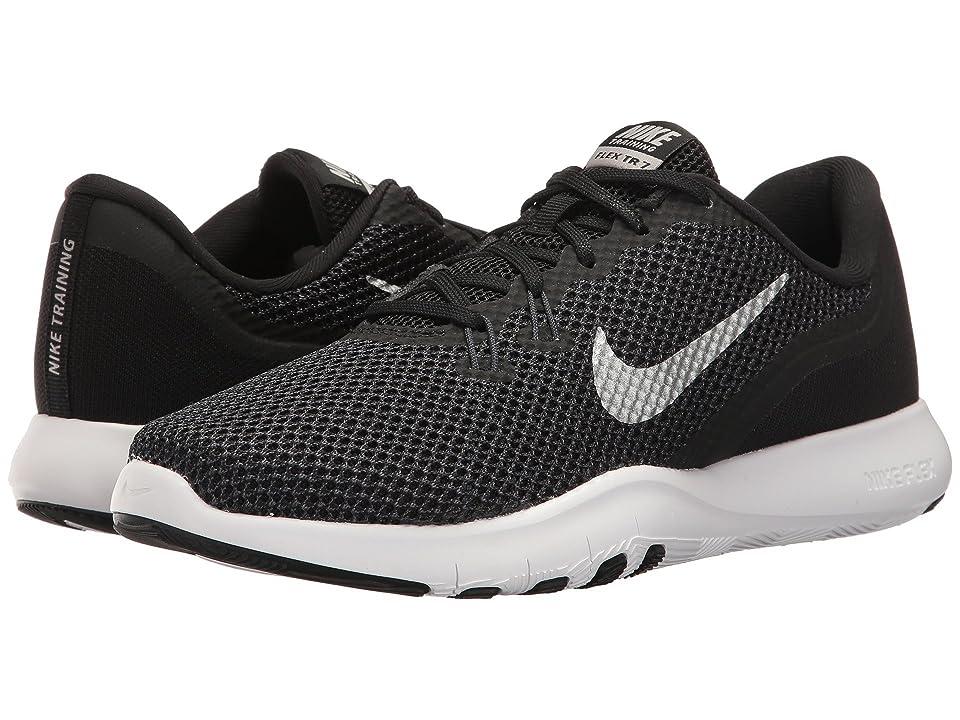 Nike Flex TR 7 (Black/Metallic Silver/Anthracite/White) Women