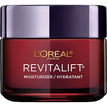 Anti-Aging Face Moisturizer by L'Oreal Paris Skin Care, Revitalift Triple Power Anti-Aging Moisturizer with Pro Retinol, Hyaluronic Acid & Vitamin C to reduce wrinkles, firm and brighten skin, 2.55 Oz