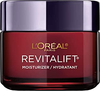 Face Moisturizer By L'Oreal Paris Skin Care I Revitalift Triple Power Anti-Aging Face Cream With Pro Retinol, Hyaluronic Acid & Vitamin C I 2.55 Oz