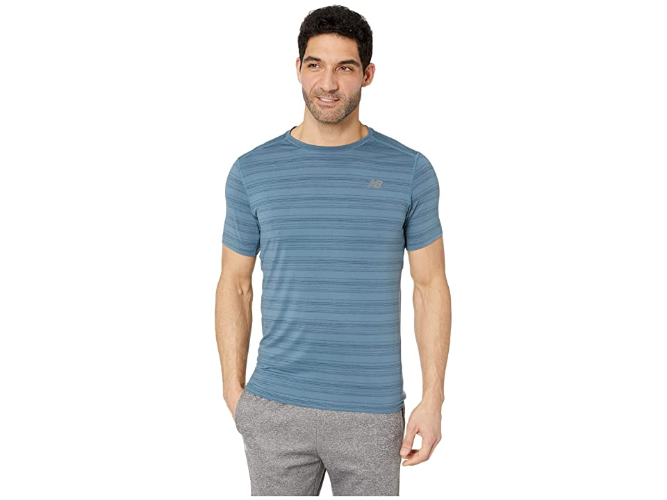 New Balance Anticipate Tee (Petrol) Men