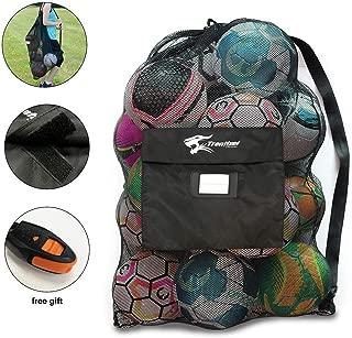 Heavy Duty Mesh Equipment Bag, Extra Large Ball Bag...