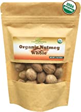 Organic Whole Nutmeg premium grade 2 oz