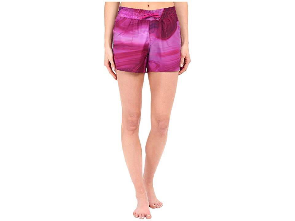 The North Face Printed Class V Shorts (Fuchsia Pink Water Swirl Print (Prior Season)) Women
