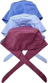 عبوة من 3 قبعات منتفخة مع أزرار وحزام رياضي قابل للتعديل. قبعات العمل أغطية الرأس للنساء والرجال