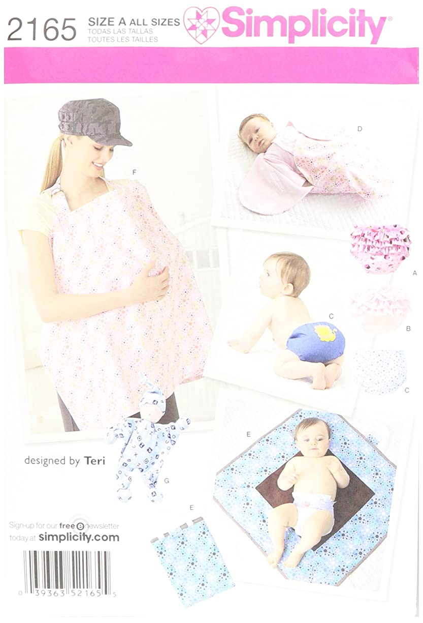 Simplicity Baby Covers And Infant Accessories Sewing Patterns, All Sizes