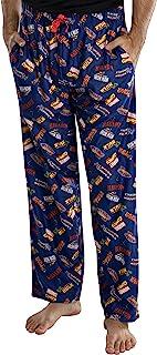 Marvel Comics hombre' Logo superhéroe títulos Loungewear Pajama Pants