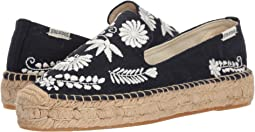 Ibiza Embroidered Smoking Slipper