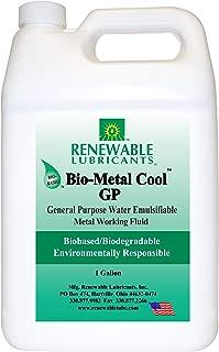 Renewable Lubricants Bio-Metal Cool General Purpose Cutting Oil, 1 Gallon Jug