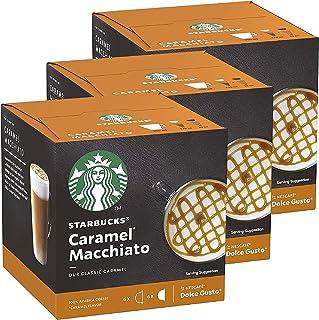 Capsules de café Starbucks Nescafé Dolce Gusto • Pack Familial Multi-Boissons en qualité professionnelle (Cafés gourmands...