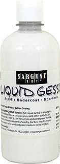 Sargent Art 22-9701 16oz Gesso, Surface Primer White