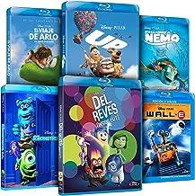 Pack Pixar Imprescindibles (El Viaje de Arlo + Inside Out (Del Revés) + Monstruos S.A. + Buscando A Nemo + Wal-E + UP) [Blu-ray]