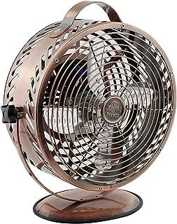 Himalayan Breeze Bronze Fan, Portable Fan, Unique Decorative Lightweight Table Fan