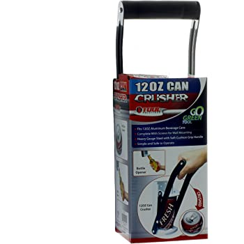 Great Recycling Can Crusher for 12 oz Cans and Smaller