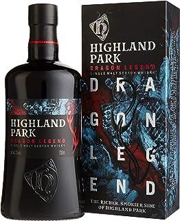Highland Park Dragon Legend Single Malt Scotch Whisky 1 x 0.7 l – intensives, aromatisches Raucharoma, inspiriert durch die Wikinger-Saga