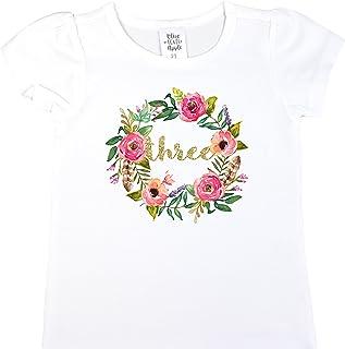 Keep Calm and Nurse On Childrens Girls Short Sleeve T Shirts Ruffles Shirt Tee for 2-6T