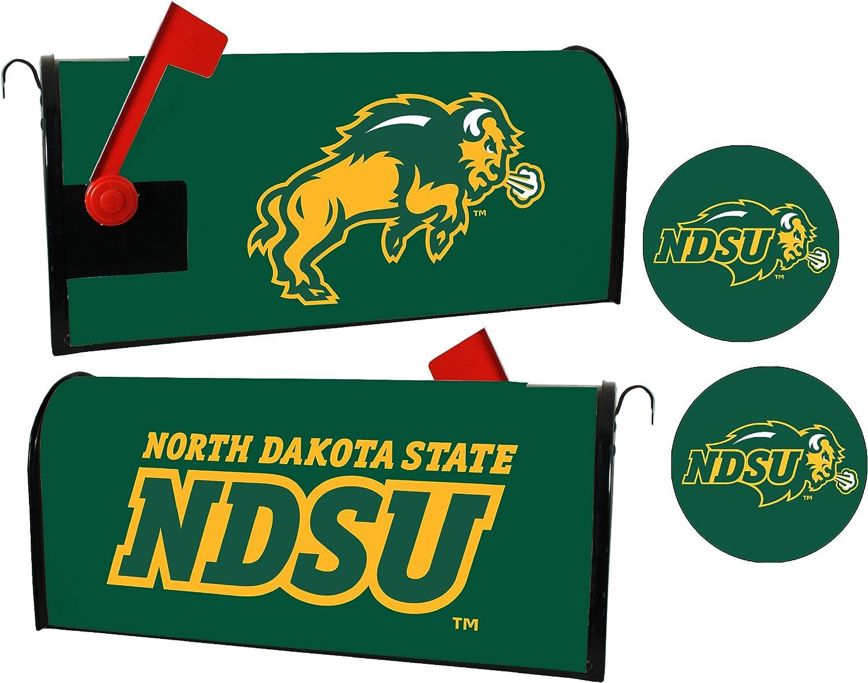 North Dakota State discount Bison Magnetic Max 77% OFF Set Mailbox Cover Sticker