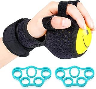 REAQER 指機能リハビリトレーニング機器 脳卒中、脳片麻痺 フィンガーボールエクサ ハンドマスター セット 指の力と握力を鍛える器具