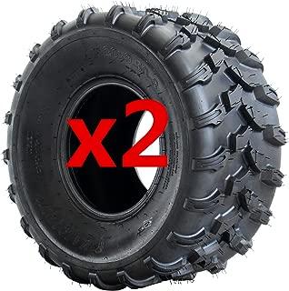 AR DONGFANG Pair of ATV Tires 20x9.5-8 Quad UTV Go Kart Tires ATV Tire 4PR Tubeless 2pcs