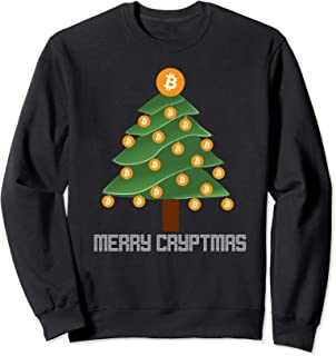 Bitcoin Sweatshirt - Crypto Sweater - Xmas Crypto Sweatshirt