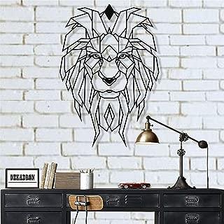 Best lion geometric art Reviews
