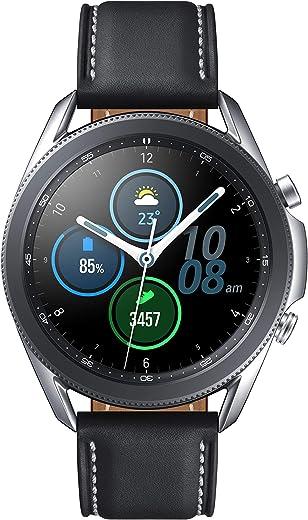 Samsung Galaxy Watch 3 (41mm, GPS, Bluetooth), Mystic Silver (US Version with Warranty)