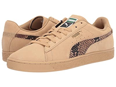 PUMA Suede Shed (Taos Taupe/Taos Taupe) Shoes