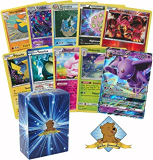 25 Pokemon Rare Grab Bag Card Pack Lot With No Duplication With Foils and Holos. Comes in Custom Golden Groundhog 60 Count Box.