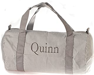 Personalized Oh Mint traveling and sports duffel bag embroidered with your name from our variety of fonts and colors