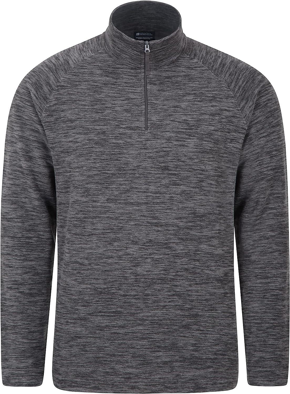 Mountain Warehouse Snowdon Mens Micro Fleece Pullover - For Winter