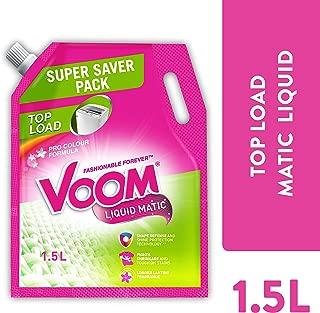 Voom Matic Top Load Liquid Detergent Pouch, 1.5 L