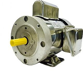 SMC YCN5654BX 1 HP Stainless Steel Boat Lift Motor, 1725RPM, 1.15 Service Factor, 56C Frame, TEFC, 115/230V, SST Boat Hoist Motor