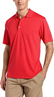 Men's Airflux Short Sleeve Solid Polo-Shirts