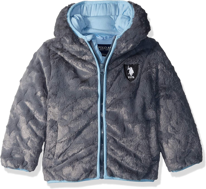 U.S. Polo Assn. baby-boys Star Plush Jacket