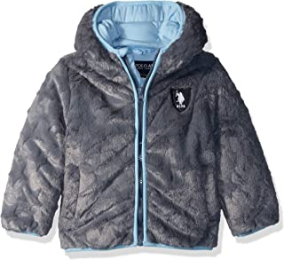 U.S. Polo Assn. Baby Boys Star Plush Jacket