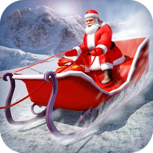 4x4 SUV Deer Santa Claus