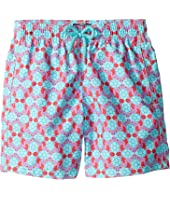Vilebrequin Kids - Jim Data Turtles Swim Trunk (Toddler/Little Kids/Big Kids)