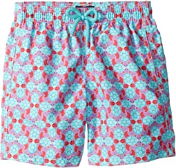 Jim Data Turtles Swim Trunk (Toddler/Little Kids/Big Kids)
