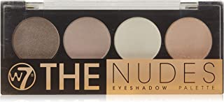 W7 Naked Nudes Eyeshadow Palette (4 Neutral Shades)