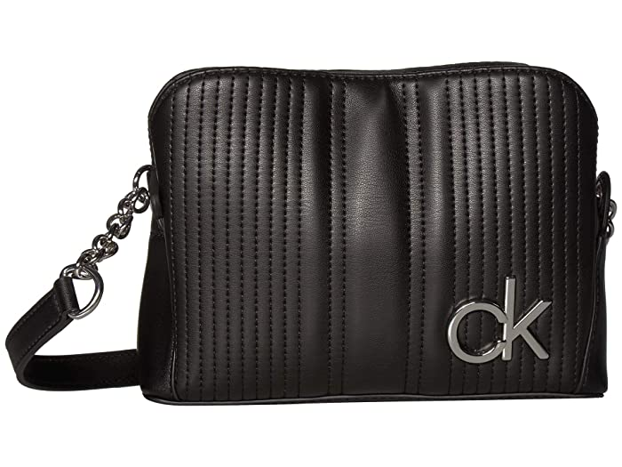 best selling classic shoes differently Calvin Klein Paige Quilted Lamb Novelty Chain Crossbody | 6pm