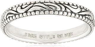 [FREE STYLE] FREE STYLE 阿拉伯风格 FREE STYLE 银戒指 黑色