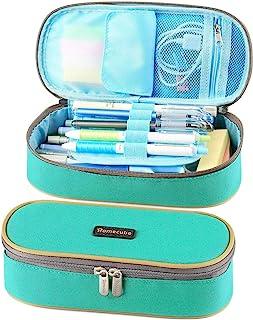 Homecube Pencil Case Big Capacity Pencil Bag Makeup Pen Pouch Durable Students Stationery..