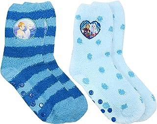 Frozen 2 Anna y Elsa 2 Paquete De Anti-Slip mullidas deslizador Calcetines