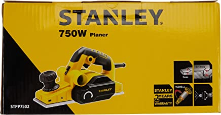 Stanley STPP7502-TR Planya Makinesi, Sarı/Siyah, 1 Adet