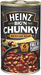 Heinz Big 'N Chunky Mexican Bean Canned Soup, 535g