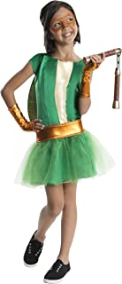 Rubie's Teenage Mutant Ninja Turtles Deluxe Child's Michelangelo Costume Tutu Dress, Small