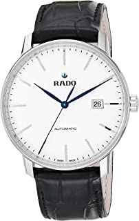 Rado Men's Coupole Classic Leather Swiss Automatic Watch