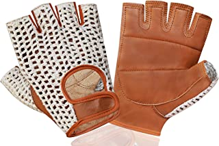 KANGO FITNESSWEIGHT LIFTING LEATHER PADDED TRAINING GYM WHEELCHAIR GLOVE/'S