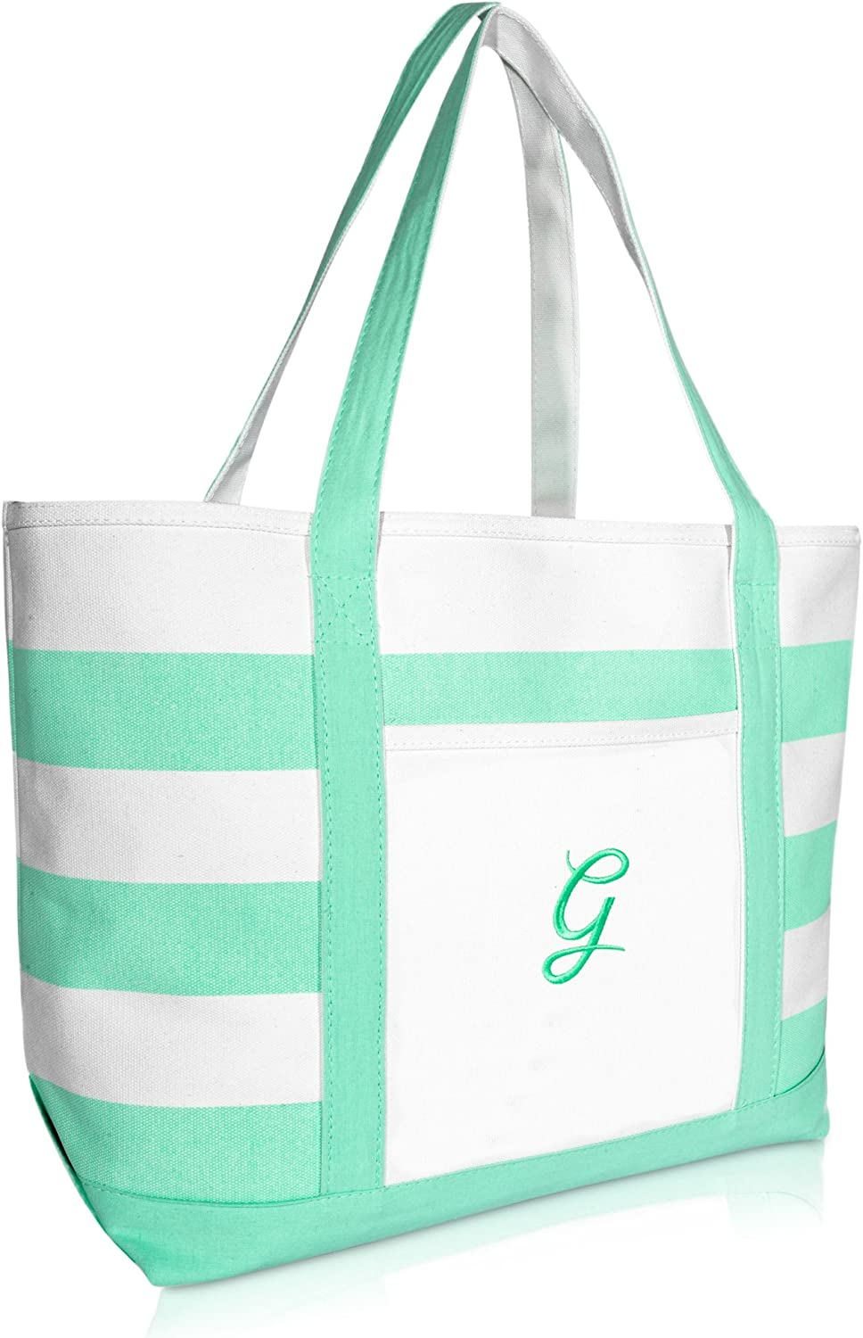 DALIX Monogram safety Beach Bag and Gifts Special Campaign Totes Women Personalized for