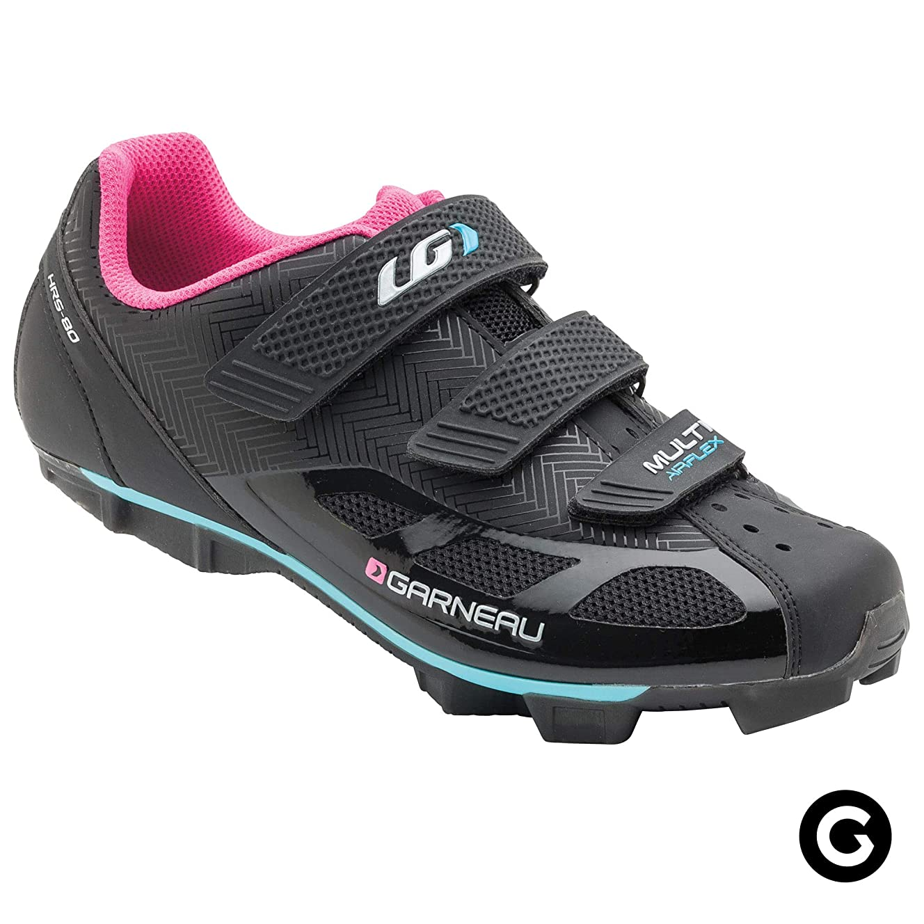 Louis Garneau - Women's Multi Air Flex Bike Shoes for Indoor Cycling, Commuting and MTB, SPD Cleats Compatible with MTB Pedals
