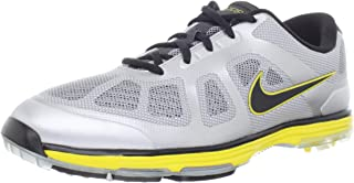 Nike Golf Men's Nike Lunar Ascend-M, Stadium Grey/Metallic Silver/Black, 8.5 M US